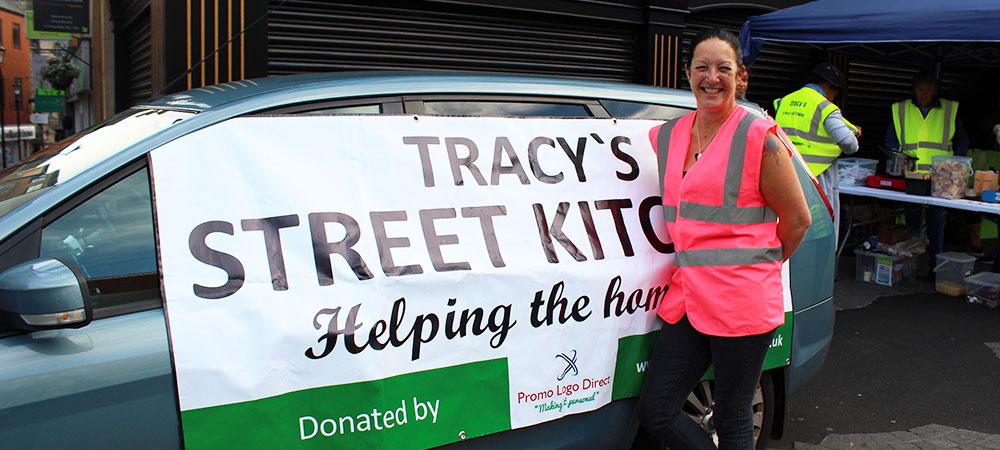 Volunteers feeding the Homeless every week!